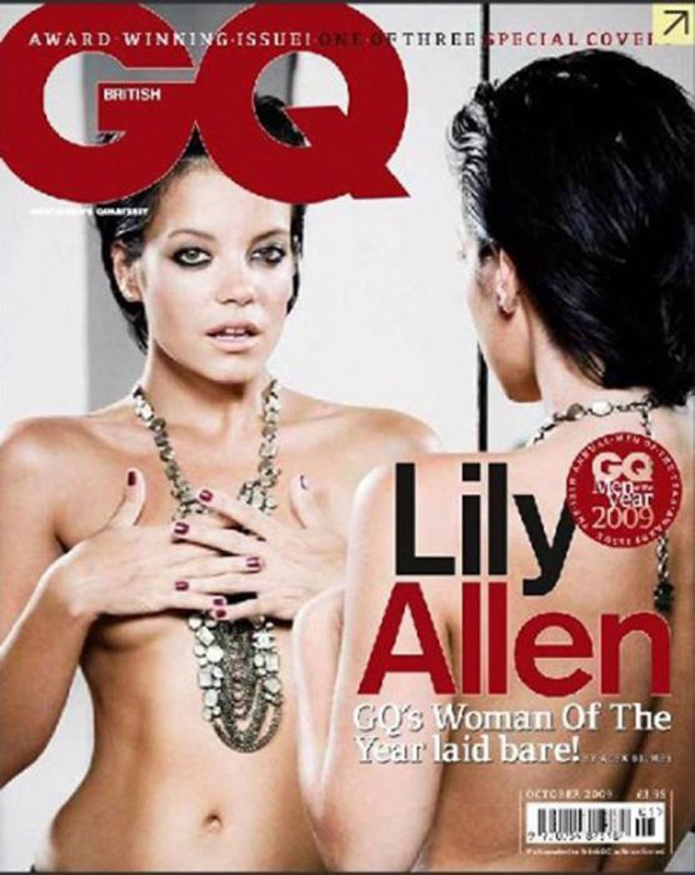 portada 'GQ' Lily Allen