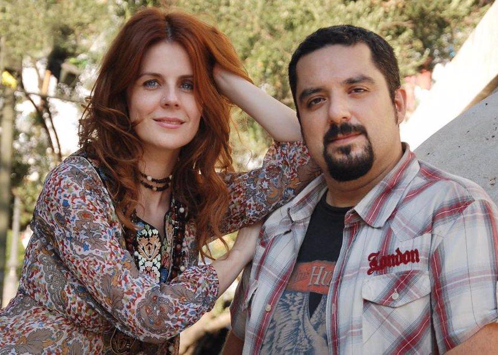 Lys Pardo y su novio