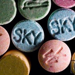 drogas de  síntesis, éxtasis