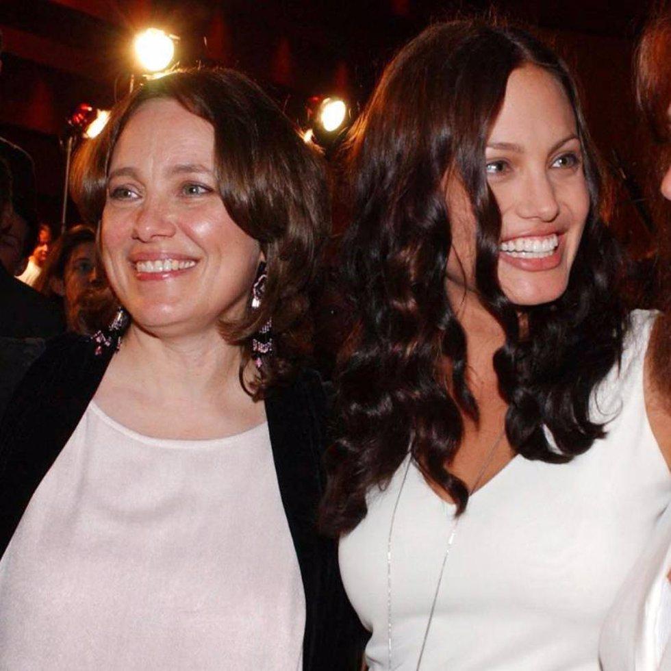 Marcheline Bertrand y Angelina Jolie
