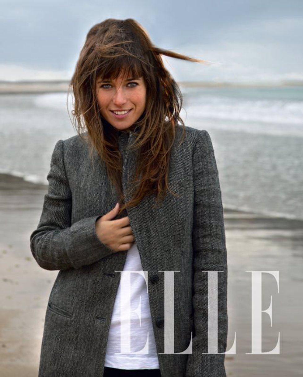 Marta Etura para la revista 'Elle'