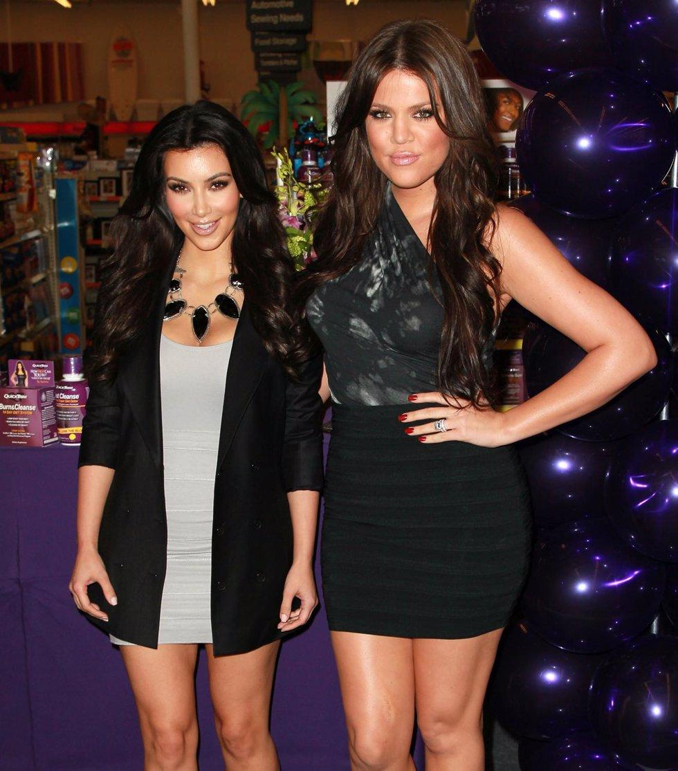 Kim Kardashian Y Khloe Kardashian