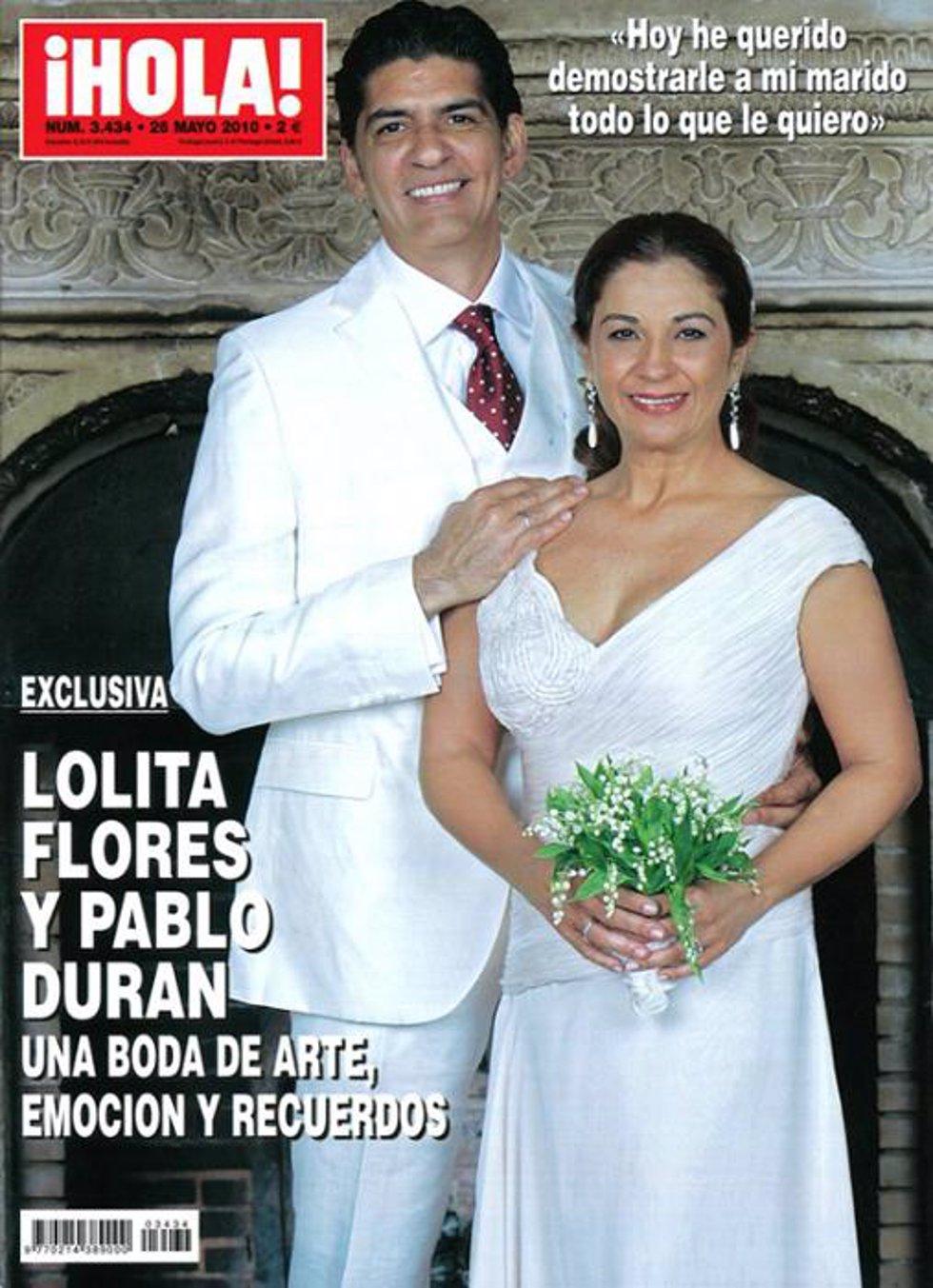 Boda de Lolita Flores y Pablo Durán, exclusiva en la revista ¡Hola!