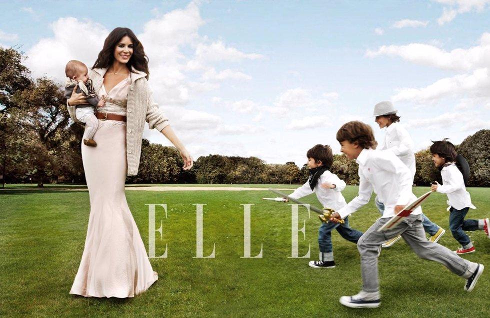 Mamen Snaz para la revista Elle