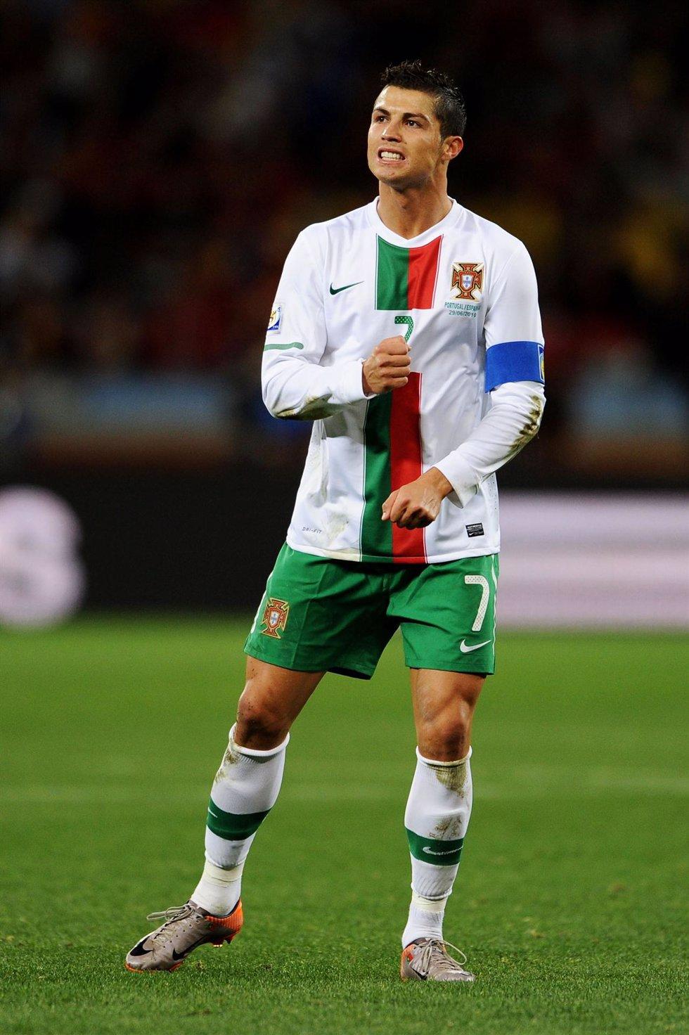 Cristiano Ronaldo en el mundial de Sudáfrica