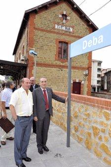 El Gobierno vasco cede el uso parcial de la estación de Deba para albergue de peregrinos