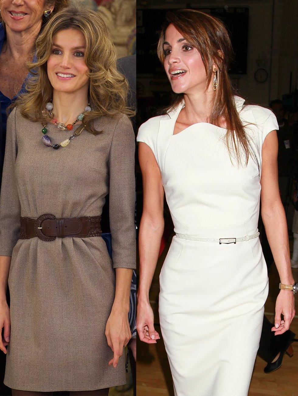 Montaje de Letizia Ortiz y Rania de Jordania