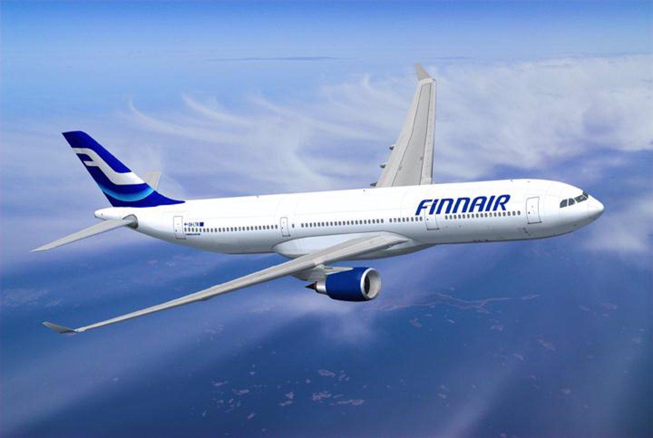 Avión Finnair