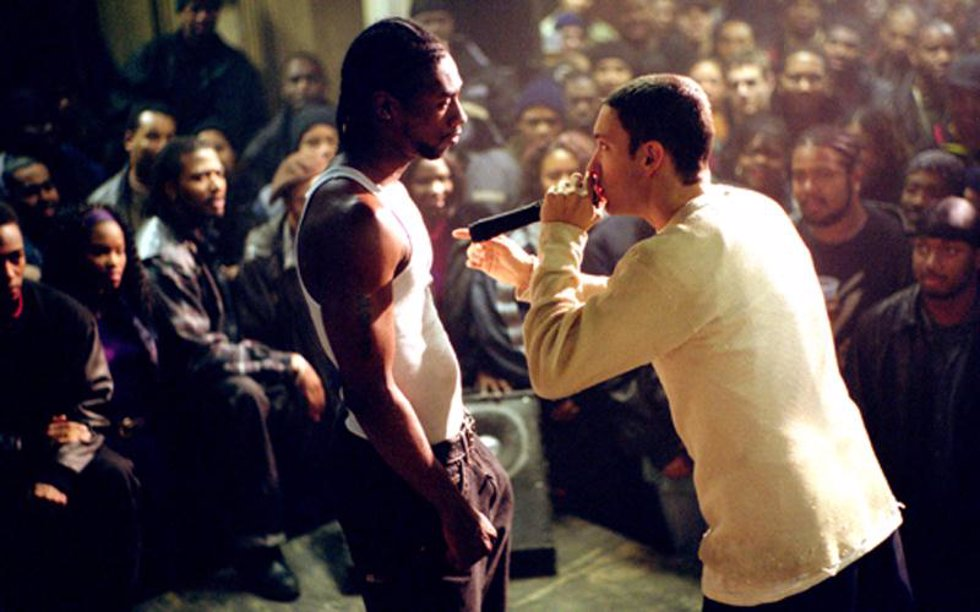 Eminem en la película 8 millas