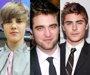 Foto: Bieber y Efron, junto a Robert Pattinson en los Globos de Oro