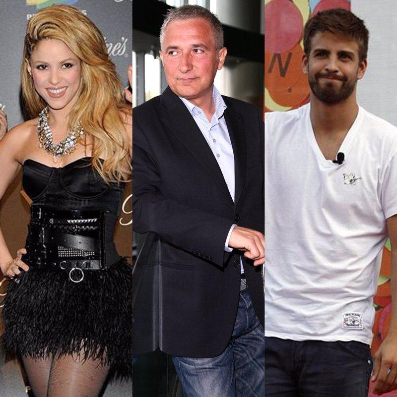 Javier Sardá se ha metido de lleno en la relación entre Shakira y Piqué.