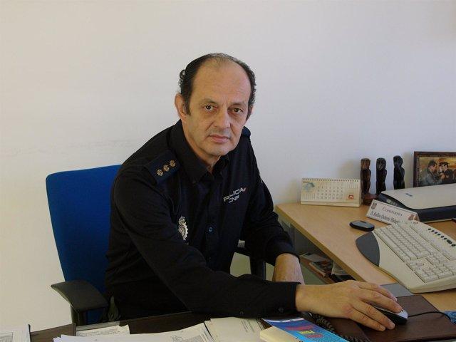 Rufino q malag n nuevo comisario jefe de la unidad de - Jefatura provincial de trafico de albacete ...