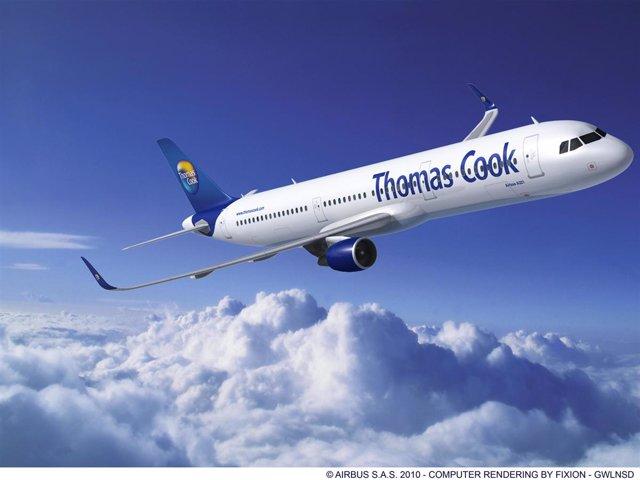 Avión Thomas Cook