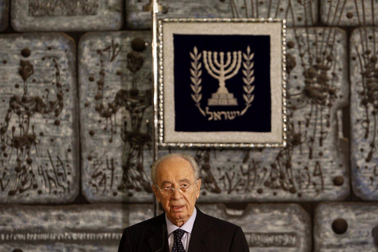 El presidente de Israel, Simon Peres