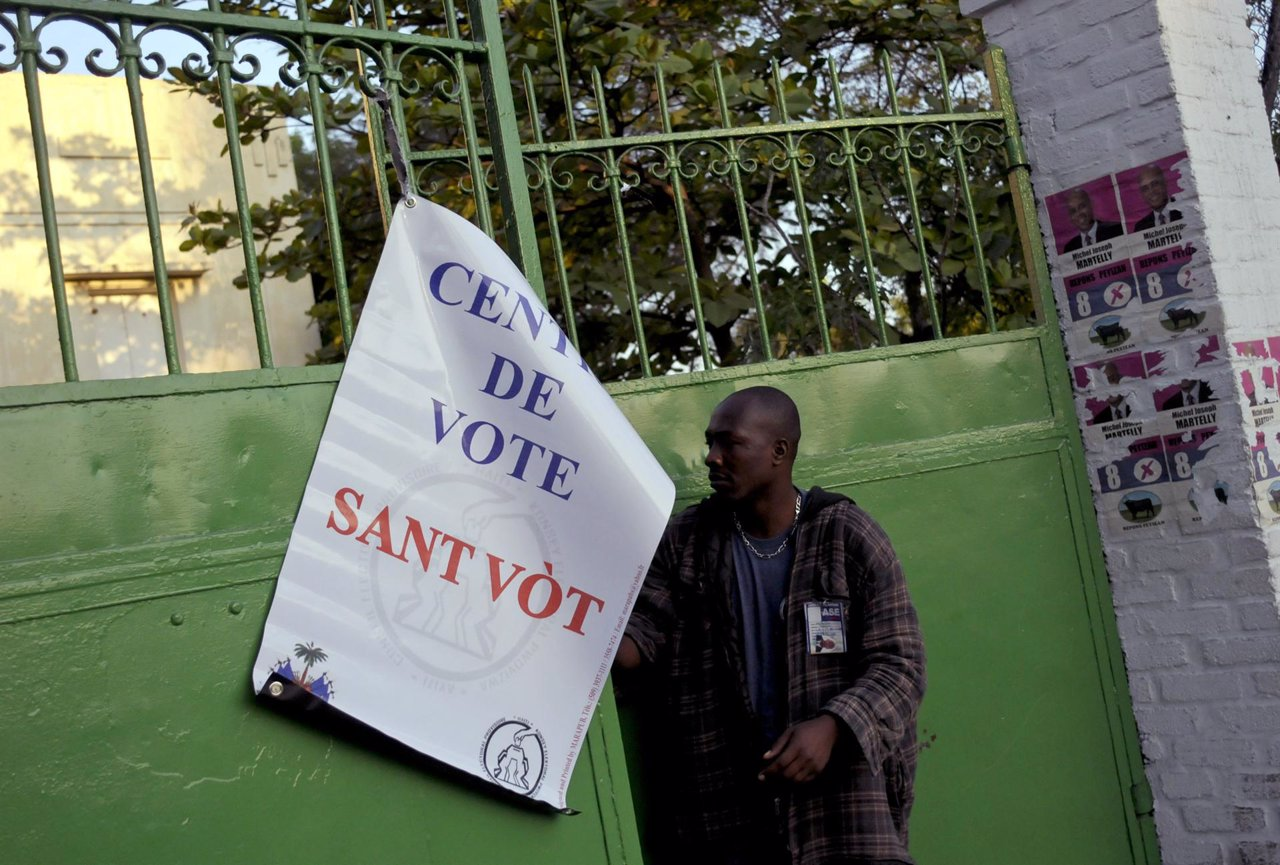 Elecciones presidenciales en Haití