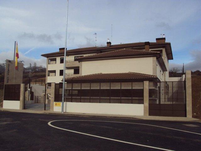 Concluyen las obras del nuevo cuartel de la guardia civil for Ministerio del interior guardia civil