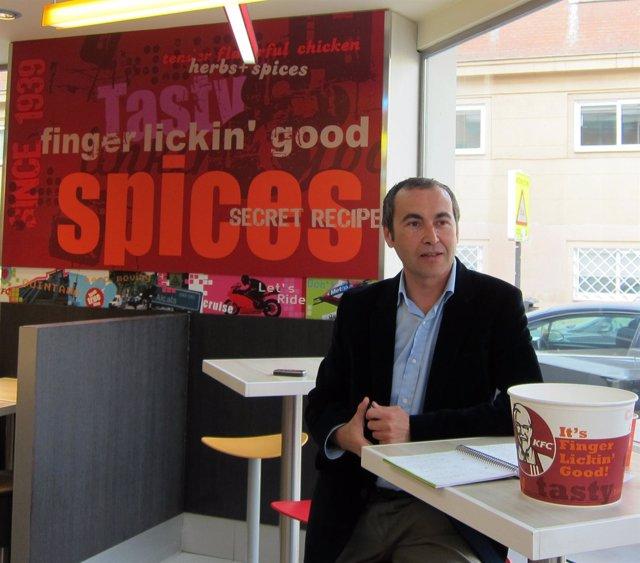 Director General de KFC España, Alain Pablo