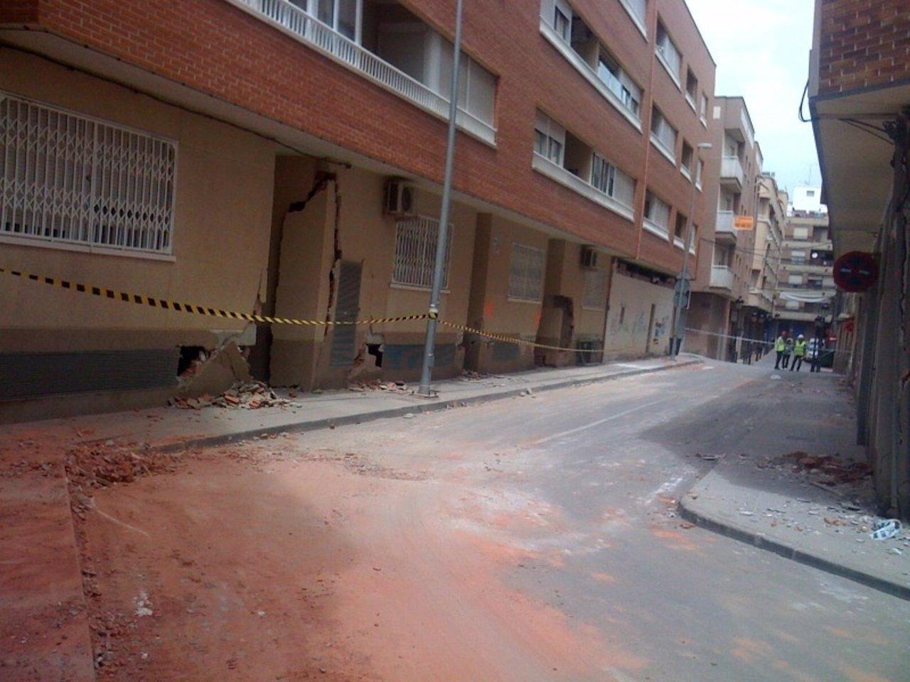 Calles Afectadas Por El Terremoto de Lorca