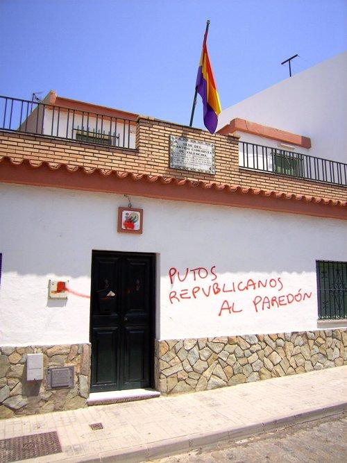 Sede de IU en Valencina de la Concepción  Sevilla)