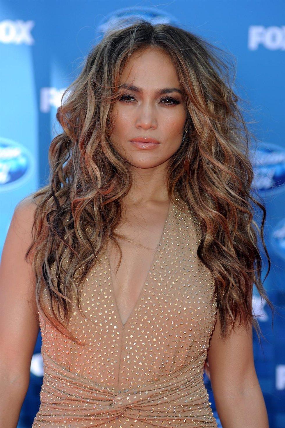 Jennifer Lopez Posando En Un Photocall