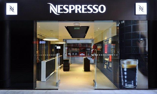 Nespresso abre segunda tienda en el centro comercial la - Centro comercial maquinista barcelona ...