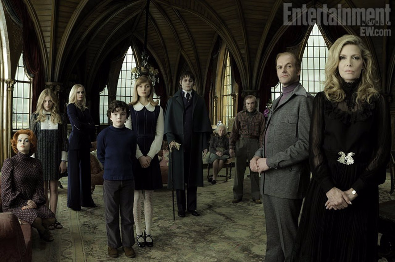 Reparto De Dark Shadows De Tim Burton