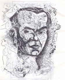 Retrato Federico García Lorca