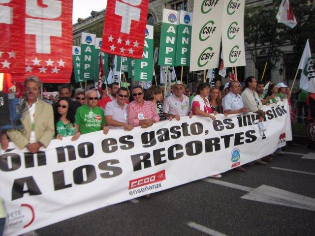 Ccoo llama a que la huelga educativa del 20 de octubre sea for Ccoo ensenanza madrid