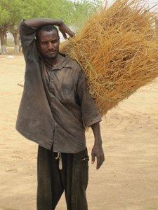 hombre Chad agricultor pobreza áfrica