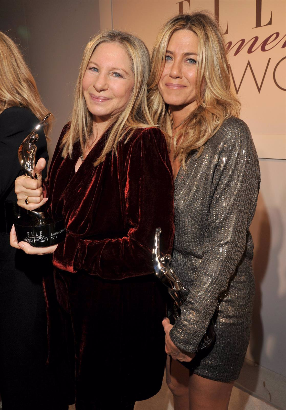 Barbra Streisand Y Jennifer Aniston