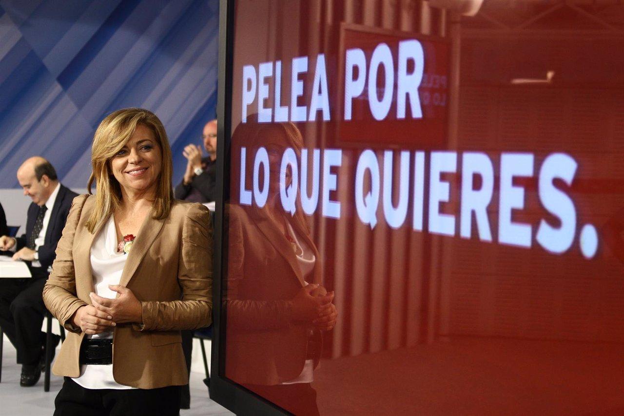 Elena Valenciano Presenta El Lema De Campaña