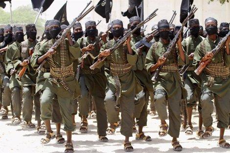 Milicianos islamistas en Somalia