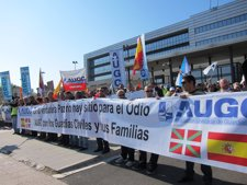 Concentración De La AUGC En Vitoria