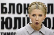 Yulia Timoshenko, lider de la oposición ucraniana
