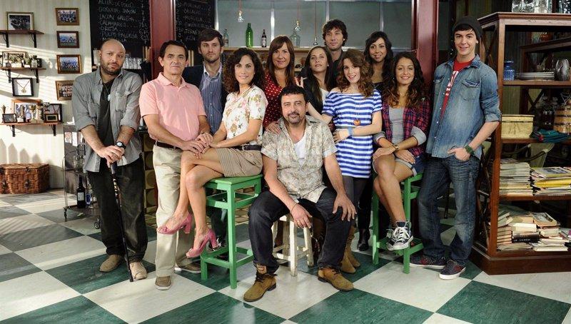 fotonoticia 20111027190041 800 El elenco de Con el culo al aire se reúne para la presentación oficial
