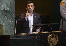 El Presidente De Irán, Mahmud Ahmadineyad En La ONU