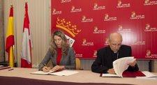La Consejera De Cultura Firma Un Convenio Sobre Patrimonio Cultural De La Iglesi