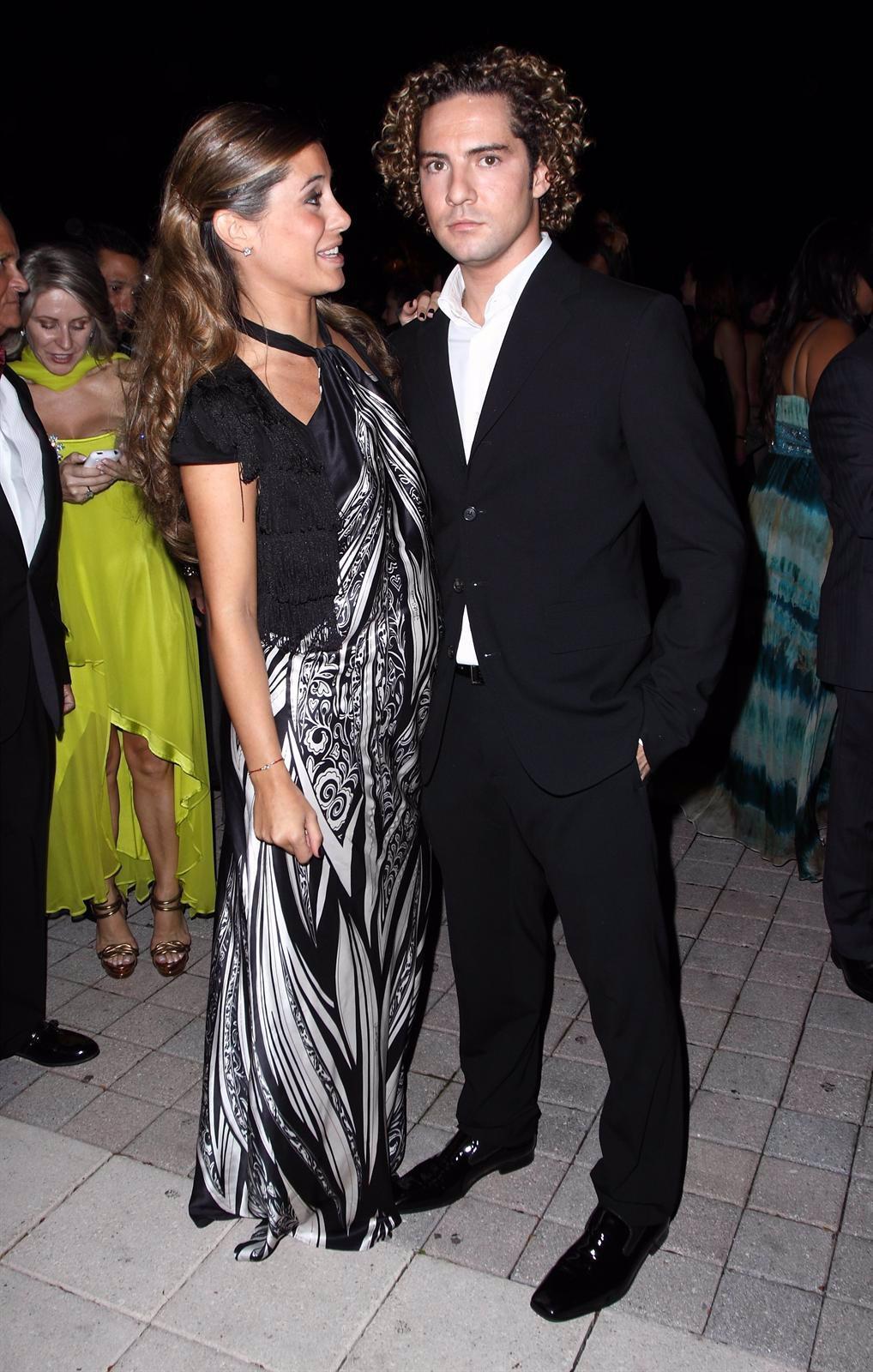 David Bisbal y Elena Tablada, cuando aún eran pareja.