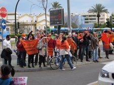 Una De Las Concentraciones De Empleados Públicos En Córdoba