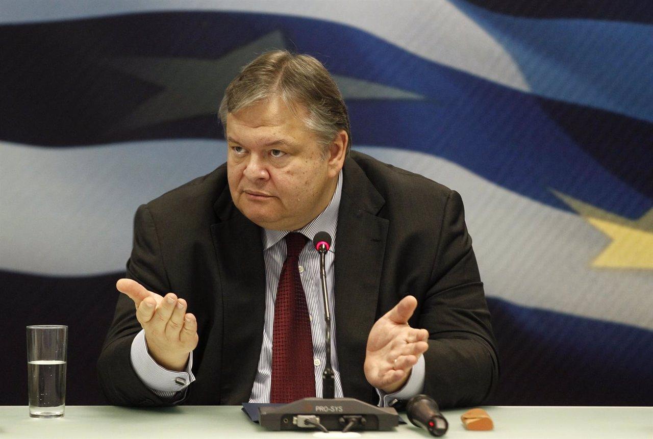 El Ministro De Economía De Grecia, Evangelos Venizelos