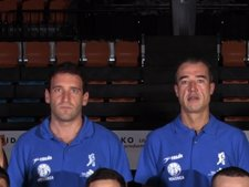 Ibon Navarro (Izquierda) Y  Paco Olmos