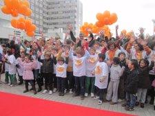 Suelta De Globos En La Celebración Del Día Internacional De Los Niños Prematuros