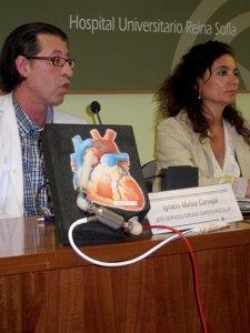 Implante corazon artificial en el Hospital Reina Sofia (Córdoba)