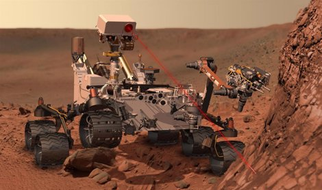 Robot Curiosity De La NASA