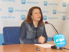 La Parlamentaria Andaluza Del PP Por Almería Carmen Crespo