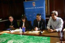 Rueda De Prensa De Presentación De La Iniciativa Benéfica  Unicaja-Diputación