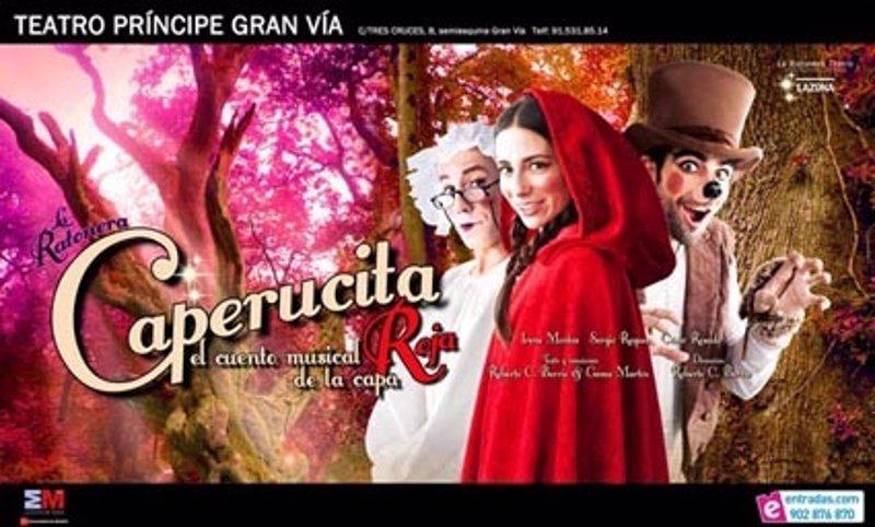 Una nueva versi n de 39 caperucita roja 39 se estrenar en el Teatro principe gran via