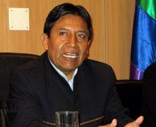 El Ministro De Asuntos Exteriores De Bolivia, David Choquehuanca