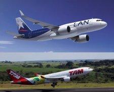 Fusión De Las Aerolíneas TAM Y LAN