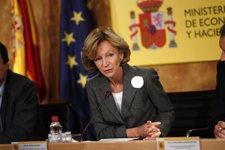 La Vicepresidenta Económica En Funciones, Elena Salgado